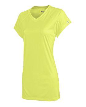 'Champion CW23 Women's Double Dry V-Neck T-Shirt'