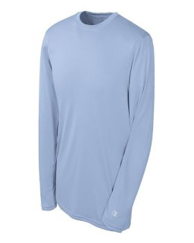 Champion CW26 Adult Double Dry Long Sleeve Interlock T-Shirt