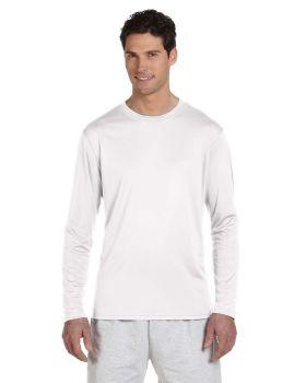 Champion CW26 Adult Double Dry Long Sleeve Interlock T-Shirt