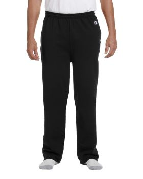Champion P800 Adult Double Dry Eco Open-Bottom Fleece Pant with Pockets