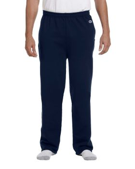 Champion P800 Adult Double Dry Eco Open Bottom with Pockets Fleece Pant