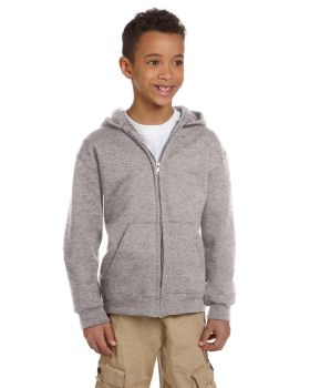 Champion S890 Champion Youth Double Dry Action Fleece Full Zip Hood