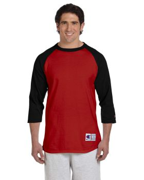 Champion T1397 Adult Raglan 5.2 oz T-Shirt