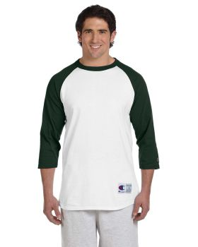 Champion T1397 Men's Raglan T Shirt