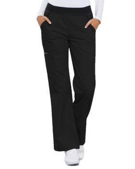 Cherokee 1031 Mid Rise Knit Waist Pull-On Pant