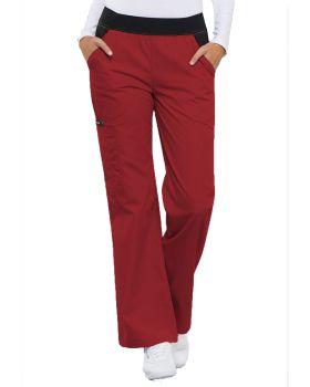 Cherokee 1031 Mid Rise Knit Waist Pull-On Pant