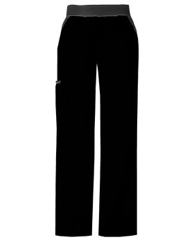 Cherokee 1031P Mid Rise Knit Waist Pull-On Pant