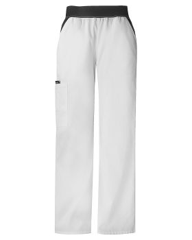 Cherokee 1031P Mid Rise Knit Waist Pull-On Pant