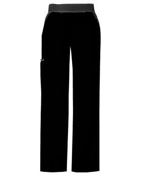 Cherokee 1031T Mid-Rise Knit Waist Pull-On Pant
