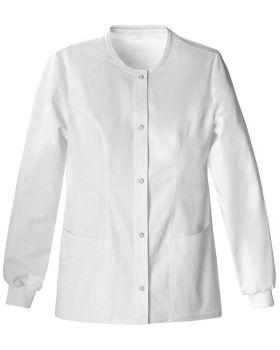 Cherokee 1330 Snap Front Warm-Up Jacket