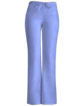 Cherokee Workwear 24002P Low Rise Moderate Flare Drawstring Pant