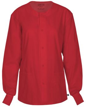 Cherokee Workwear 34350A Unisex Snap Front Warm-up Jacket