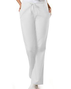 Cherokee Workwear 4101 Natural Rise Flare Leg Drawstring Pant