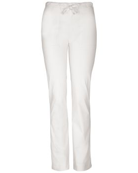 Cherokee Workwear 4203P Mid Rise Slim Drawstring Pant