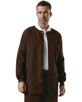 Cherokee Workwear 4450 Men's Snap Front Warm-Up Jacket