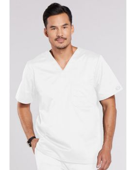 Cherokee Workwear 4743 Men's V-Neck Top