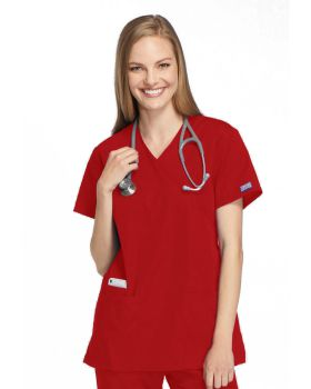 Cherokee Workwear 4801 Mock Wrap Tunic