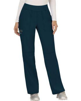 Cherokee Workwear WW110P Mid Rise Straight Leg Pull-on Pant