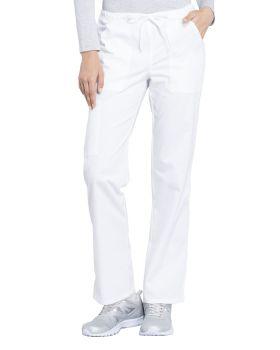 Cherokee Workwear WW160T Mid Rise Straight Leg Drawstring Pant