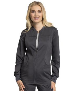 Cherokee Workwear WW305AB Zip Front Warm-Up Jacket