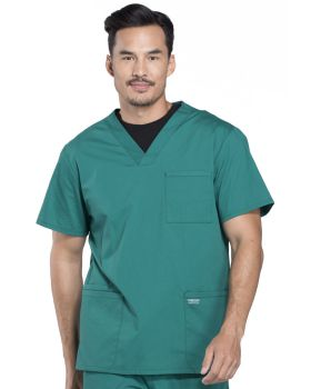 Cherokee Workwear WW695T Men's V-Neck Top