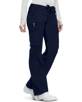 Code Happy 46000AB Low Rise Straight Leg Drawstring Pant