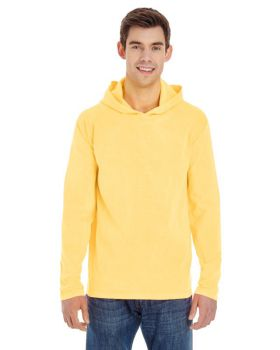 Comfort Colors 4900 Adult Heavyweight RS Long Sleeve Hooded T-Shirt