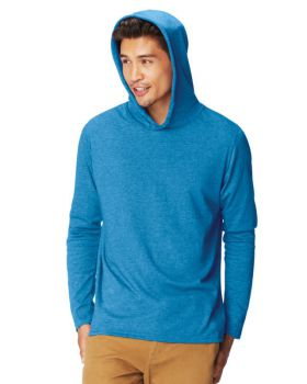 Comfort Colors 4900 Adult Heavyweight RS Long-Sleeve Hooded T-Shirt
