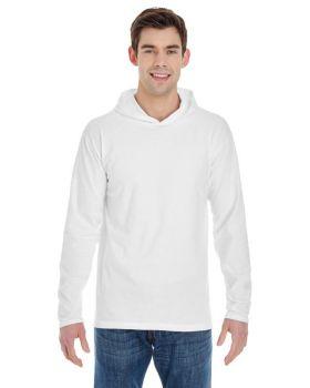 Comfort Colors 4900 Men's Long-Sleeve Hooded T-Shirt
