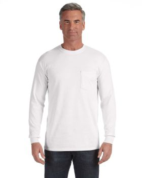 Comfort Colors C4410 Adult Heavyweight RS Long-Sleeve Pocket T-Shirt