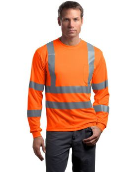 Cornerstone CS409 ANSI Class 3 Long Sleeve Snag-Resistant Reflective T-S ...