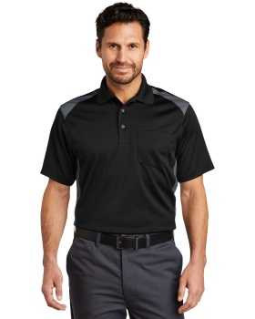 CornerStone CS416 Select Snag Proof Two Way Colorblock Pocket Polo Shirt