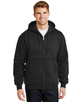 CornerStone CS620 Heavyweight Full Zip with Thermal Lining Hooded Sweats ...