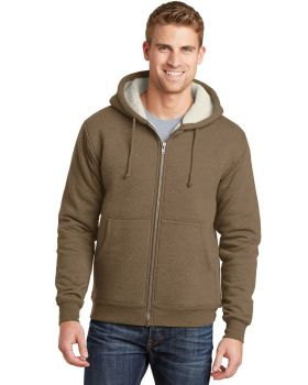 CornerStone CS625 Heavyweight Sherpa-Lined Hooded Fleece Jacket