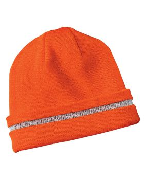 CornerStone CS800 Safety Beanie with Reflective Stripe