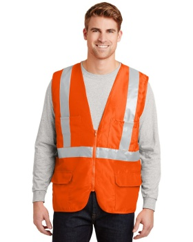Cornerstone CSV405 ANSI Class 2 Safety Pocket Vest