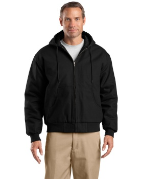 CornerStone TLJ763H Tall Duck Cloth Hooded Work Jacket