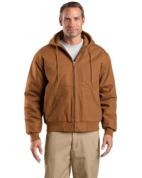 CornerStone TLJ763H Tall Duck Cloth Hooded Work Jacket