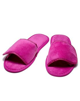 CottonAge STV Terry Slippers With Velcro Closure