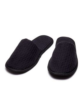 CottonAge SWC Closed Toe Waffle Slippers
