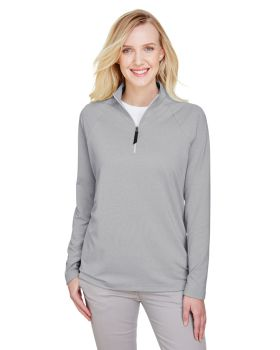 Devon & Jones DG480W Ladies' CrownLux Performance Quarter-Zip