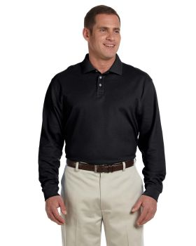 Devon & Jones D110 Men's Pima Piqué Long-Sleeve Polo