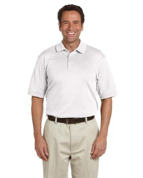 Devon & Jones D140S Men's Solid Perfect Pima Interlock Polo