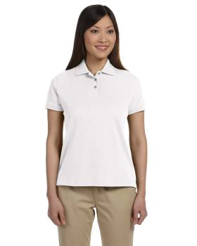Devon & Jones D140SW Ladies' Solid Perfect Pima Interlock Polo