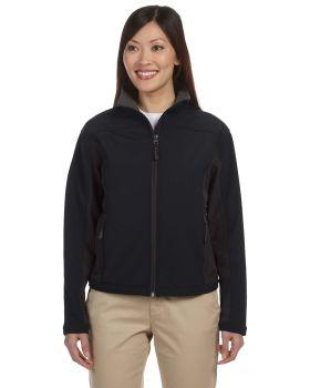 Devon & Jones D997W Ladies' Soft Shell Colorblock Jacket