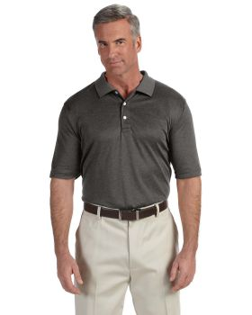 Devon & Jones DG210 Men's Pima-Tech Jet Piqué Heather Polo