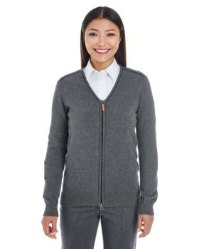 Devon & Jones DG478W Ladies' Manchester Fully-Fashioned Full-Zip Sweater