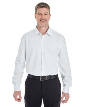 Devon & Jones DG532 Men's Crown Woven Collection RoyalDobby Shirt