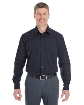 Devon & Jones DG534 Men's Crown Woven Collection StripedShirt