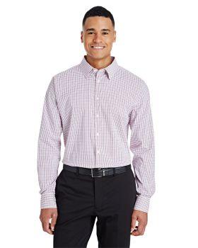 Devon & Jones DG540 CrownLux Performance Men's Micro Windowpane Shirt